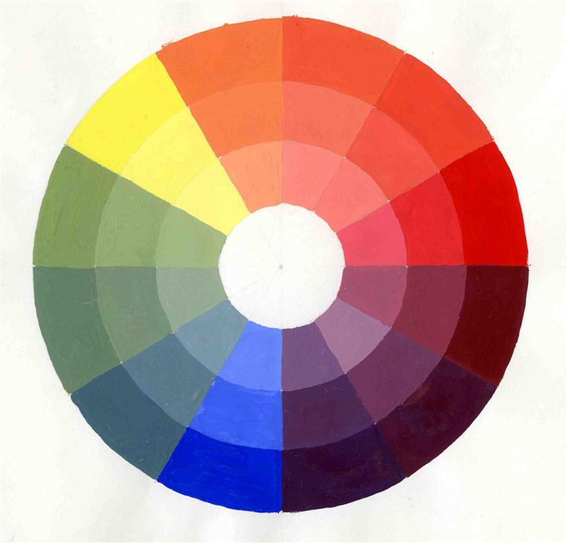 La Rosa Cromatica Representa A Los Colores Pictures